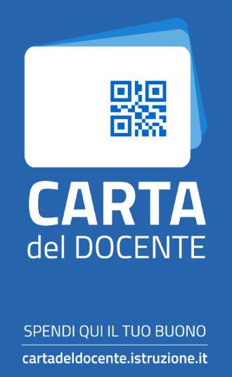 carta docente sticker